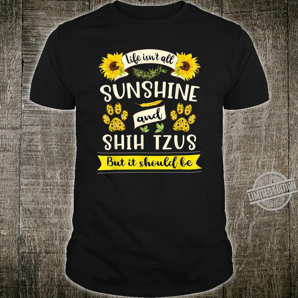 Sunshine and Shih Tzus Dog & Owner Shirt