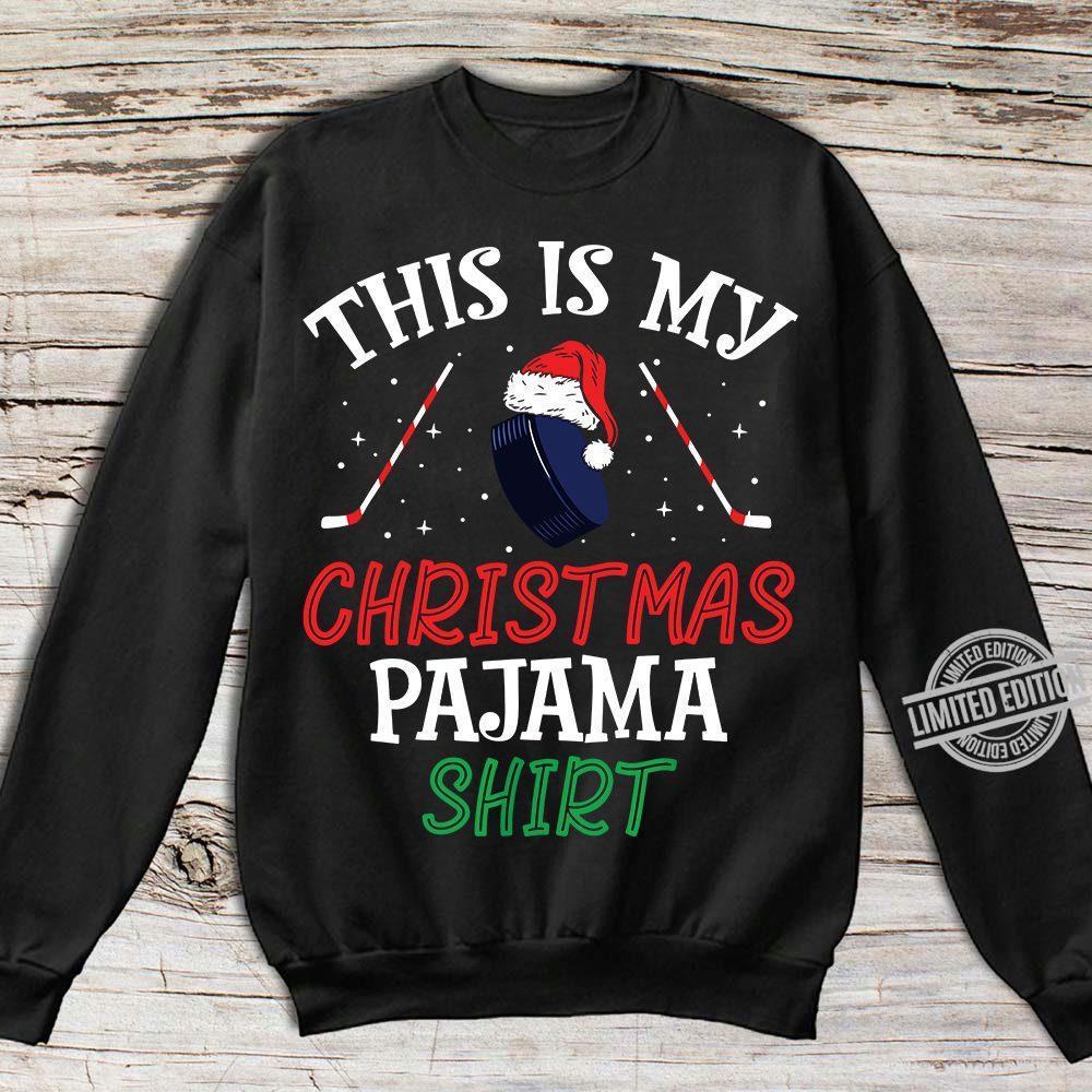 This Is My Christmas Pajama Shirt Shirt
