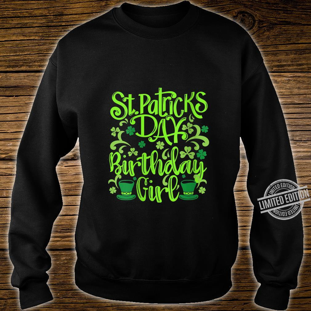 Womens Lucky Birthday For Girl St Patrick's Day Shirt sweater